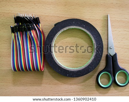 Scissors are tools that must be carried when carrying out electrical installations  #1360902410
