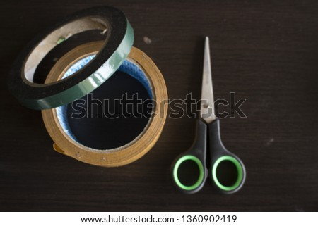 Scissors are tools that must be carried when carrying out electrical installations  #1360902419