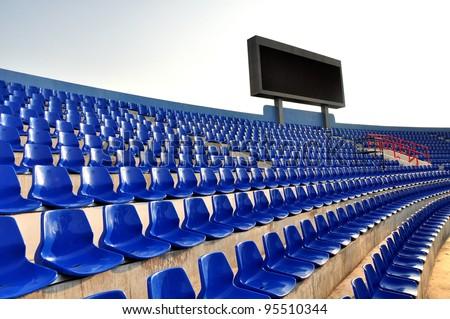 score board on stadium