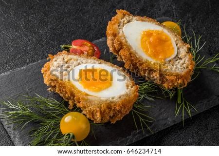 Scotch egg English food Stock photo ©
