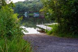 Scott Lake Public Boat Landing and Dock, Barron County Wisconsin