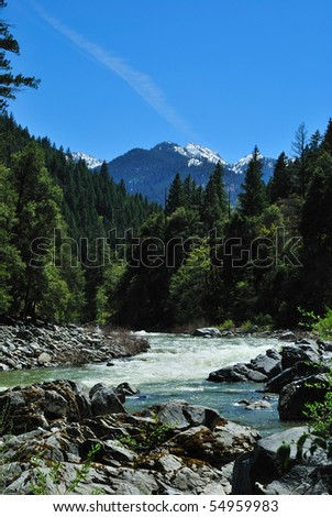 Scott River and Marble Mountain Wilderness in Northern California