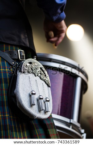 Scottish drum in the spotlight