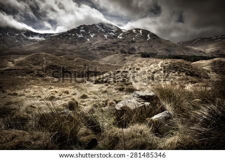 Scottish Highlands Landscape.  #281485346