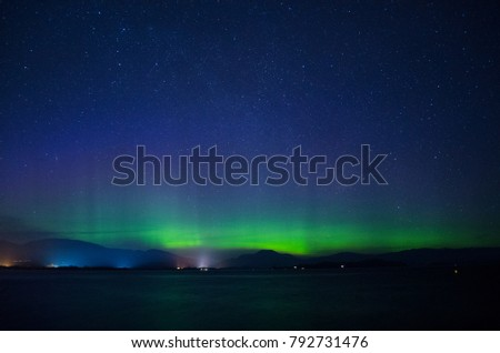Scottish Northern Lights/Aurora Borealis #792731476