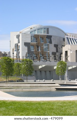Scottish Parliament, Edinburgh, Scotland