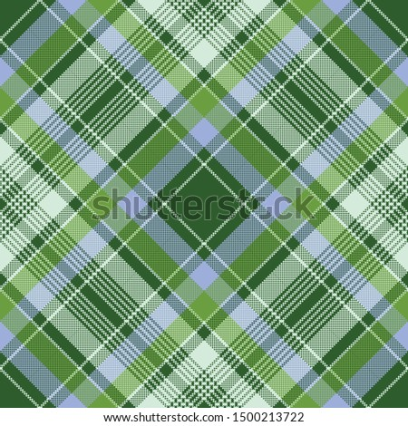 Scottish plaid tartan pattern seamless. Vintage texture fabric. Retro check geometric background for print textile, wrapping paper, gift card, flat wallpaper web design.