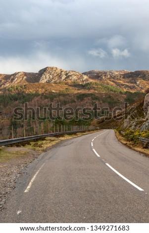 Scottish Windy Road