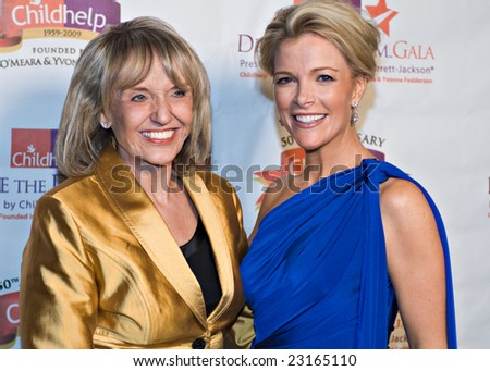SCOTTSDALE, AZ - JANUARY 9: Arizona Secretary of State Jan Brewer and Fox News anchor Megyn Kelly at the Childhelp Drive the Dream Gala on January 9, 2009 in Scottsdale, AZ.