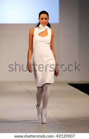 SCOTTSDALE, AZ - NOVEMBER 7: Models showcase the Barneys New York collection during a runway show at Scottsdale Fashion Week activities on November 7, 2009 in Scottsdale, Arizona.