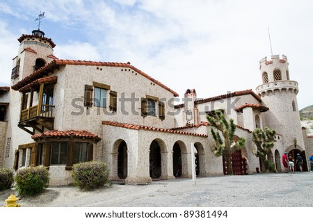 Scotty's Castle in the Death Valley, California