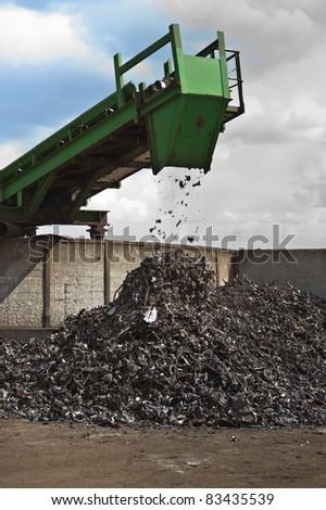 scrap shredder