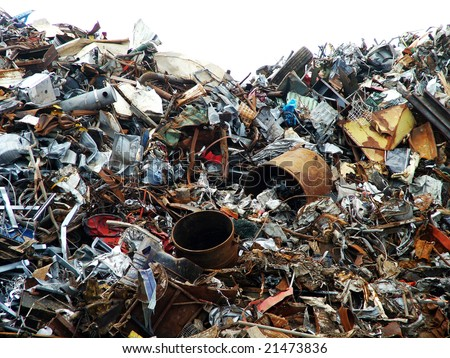 Picture link game. - Page 38 Stock-photo-scrap-yard-21473836