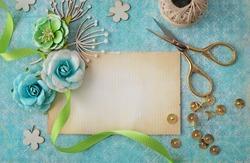 scrapbook greeting card details
