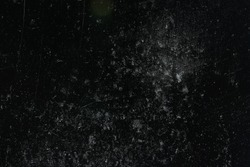 scratch black background overlay / abstract black dark background, broken cracks and scratches for overlay
