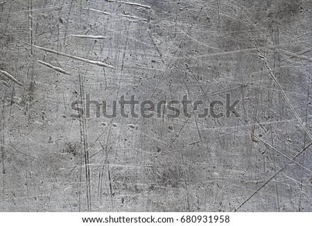 scratched aluminium panel texture