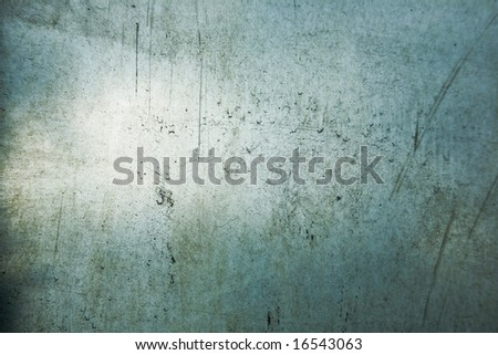 Scratched and dirty glass texture. - stock photo