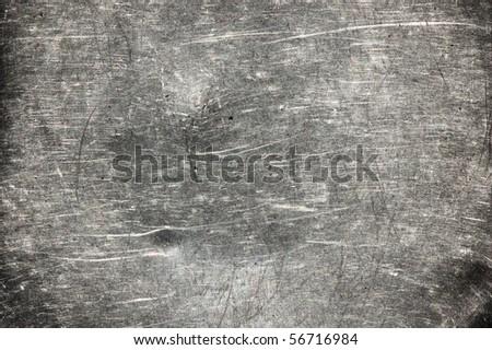 scratched grunge metal background