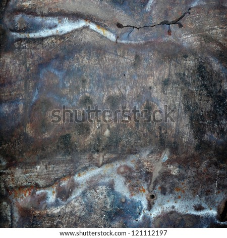 scratched grunge metal texture ; abstract background