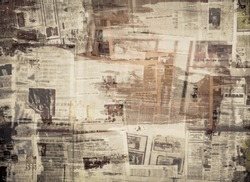 SCRATCHED PAPER TEXTURE, OLD NEWSPAPER BACKGROUND