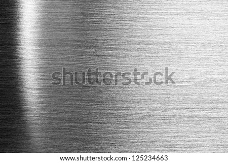 Scratched shiny steel metal texture