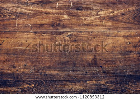 Scratched Wooden