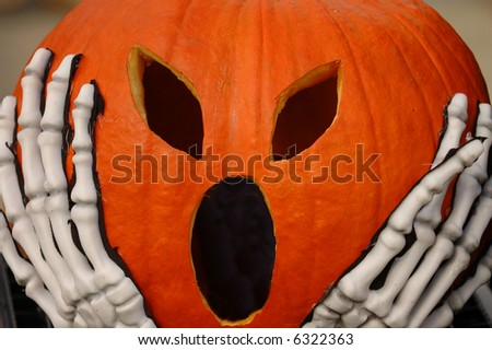 Screaming Pumpkin