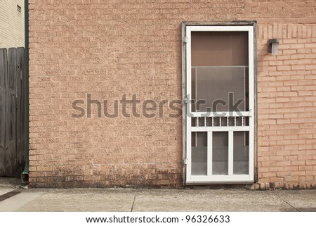 screen door background