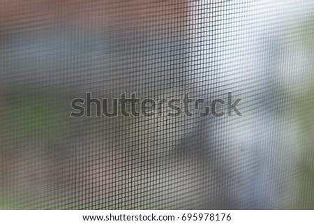 Screen Door Close up macro #695978176
