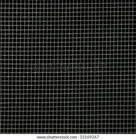 Screen door detail pattern against dark background. #33169267