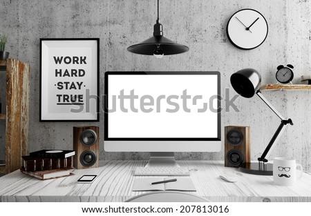 Screen in room
