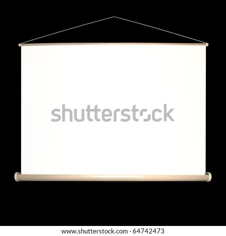 screen movie - stock photo