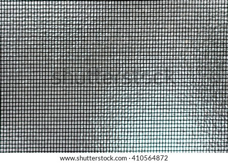Screen Texture Against Shiny Silver Background #410564872