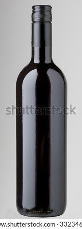 screw cap wine bottle