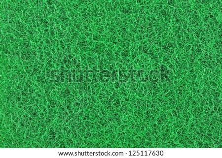 Scrubbing sponge texture