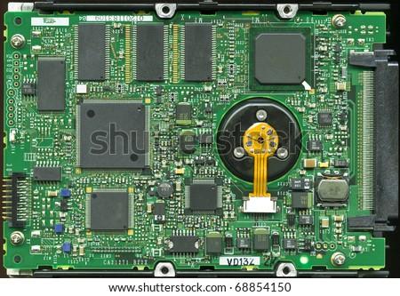 SCSI SCA 80 server hard disk drive main circuit board