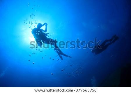 Scuba diving #379563958