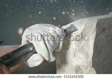 sculptor at work 6