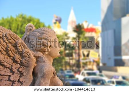 Sculpture at Caesar's Palace in Las Vegas