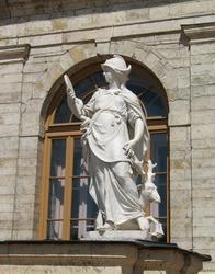 Sculpture at the Gatchina Palace, St. Petersburg suburb