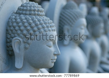 sculpture buddha , Thailand