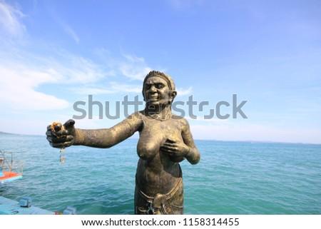 Sculpture in the sea (Koh Samet) #1158314455