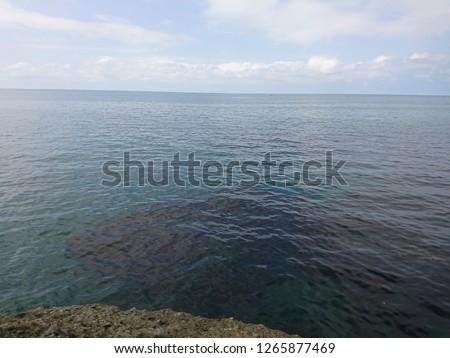 sea and blue sky #1265877469