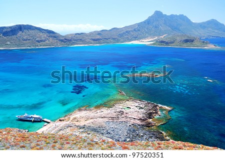 Sea and Mountain View