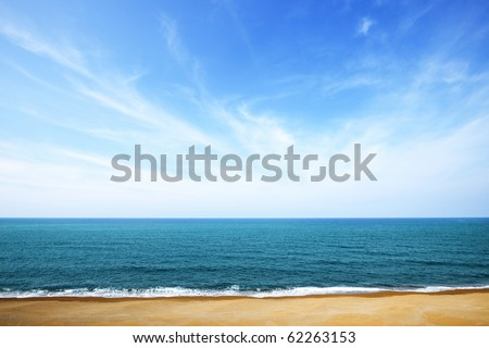 Sea and sky #62263153