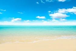 Sea beach and sky