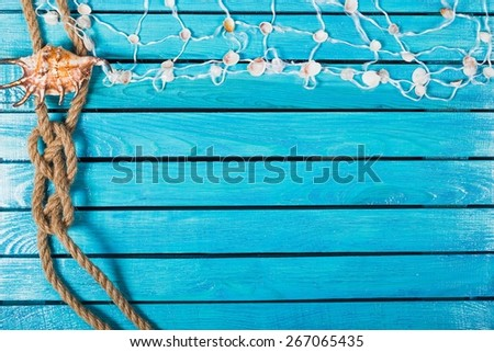 Sea, concept, conch. - Shutterstock ID 267065435