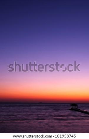 sea dawn