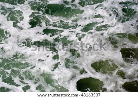 Sea foam texture