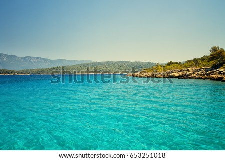 Sea landscape. Nature landscape #653251018